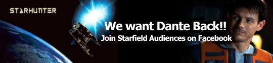 Starhunter - We want Dante Back! Join Starfield Audiences on Facebook